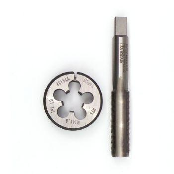 M14 x 0.8 - Triple lead die and intermediate tap